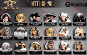 Palenque Fiestas de Octubre 2012