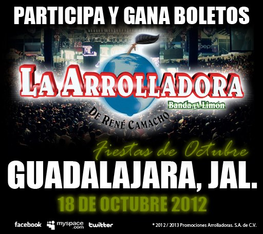 Boletos Gratis Arrolladora