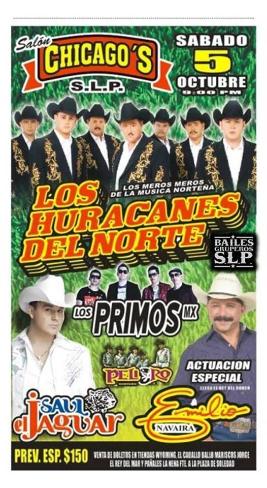 LOS PRIMOS MX 5 Octubre San Luis Potosi