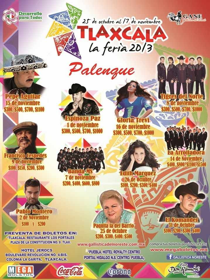 palenque feria tlaxcala 2013