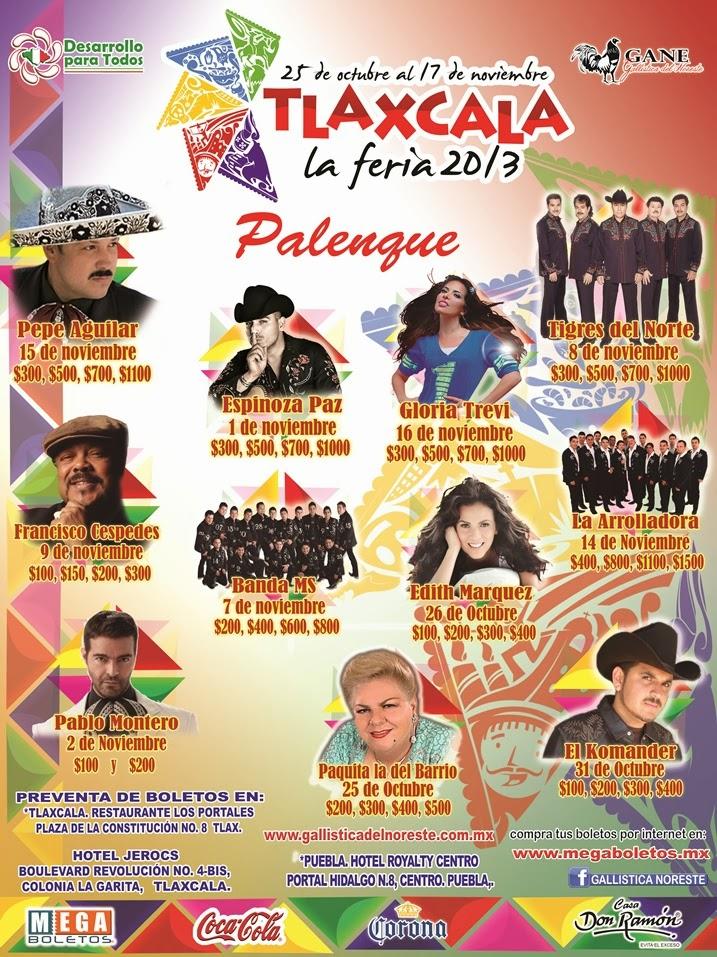 palenque feria tlaxcala 2013