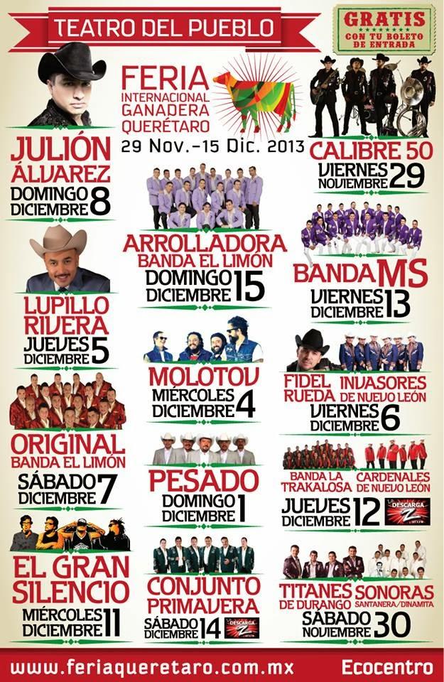 Teatro del pueblo feria queretaro 2013